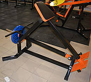 Т-тяга с упором на грудь (Проф серия, для зала), фото 3