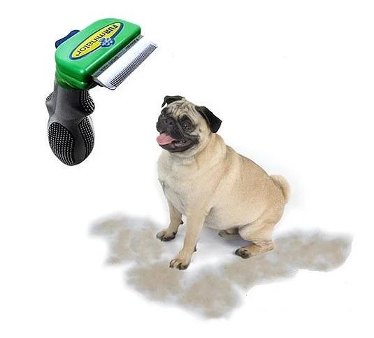 Фурминатор c кнопкою для маленьких короткошерстих собак FURminator short Hair Small Dog 4.5 см NX