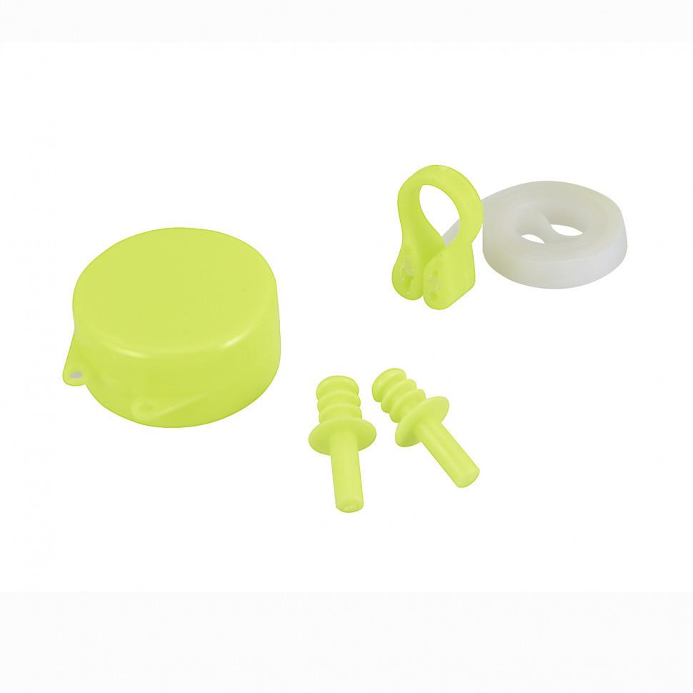 Набор для плавания в бассейне Bestway (беруши, зажим для носа) 26028 (Зелёный)