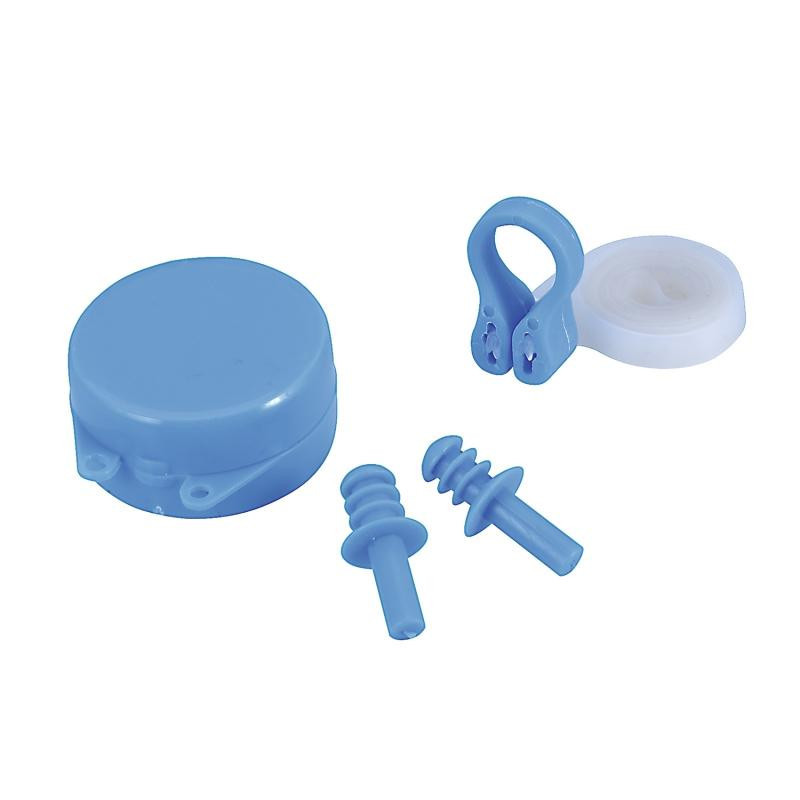 Набор для плавания в бассейне Bestway (беруши, зажим для носа) 26028 (Синий)