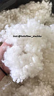 Наполнитель для подушек и игрушек Холлофайбер белый 15/64 (филфайбер) 1 сорт