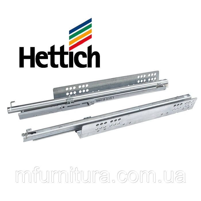 Напр. Quadro 30 SilentSystem 550 мм, частичн.выдв. (комплект) - Hettich (Германия)