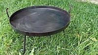 Большая сковорода из диска бороны 50 см