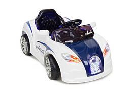 Электромобиль детский с акумулятором CABRIO - biało granatowy