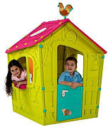 Детский домик - MAGIC PLAYHOUSE , zielono- fioletowy