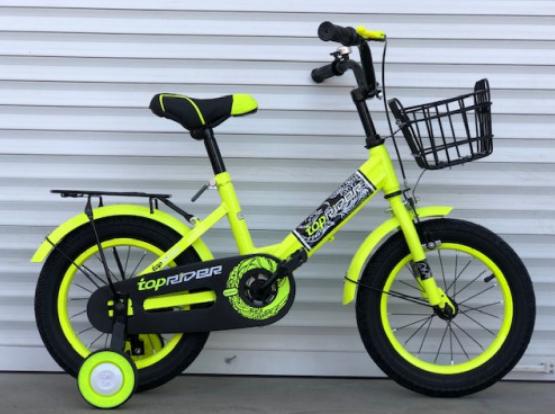 """Детский велосипед Топ Райдер (Тop Rider)16 дюймов """"09"""", салатовый"""