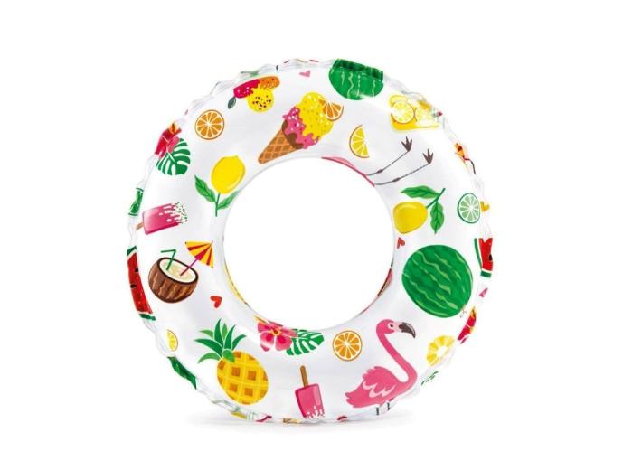 """Детский надувной круг Intex (Интекс) для плавания """"Экзотика"""" 51 см 59230"""