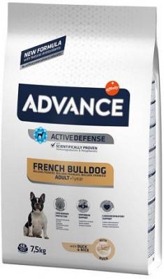 Advance French Bulldog Адванс корм для собак породы французский бульдог