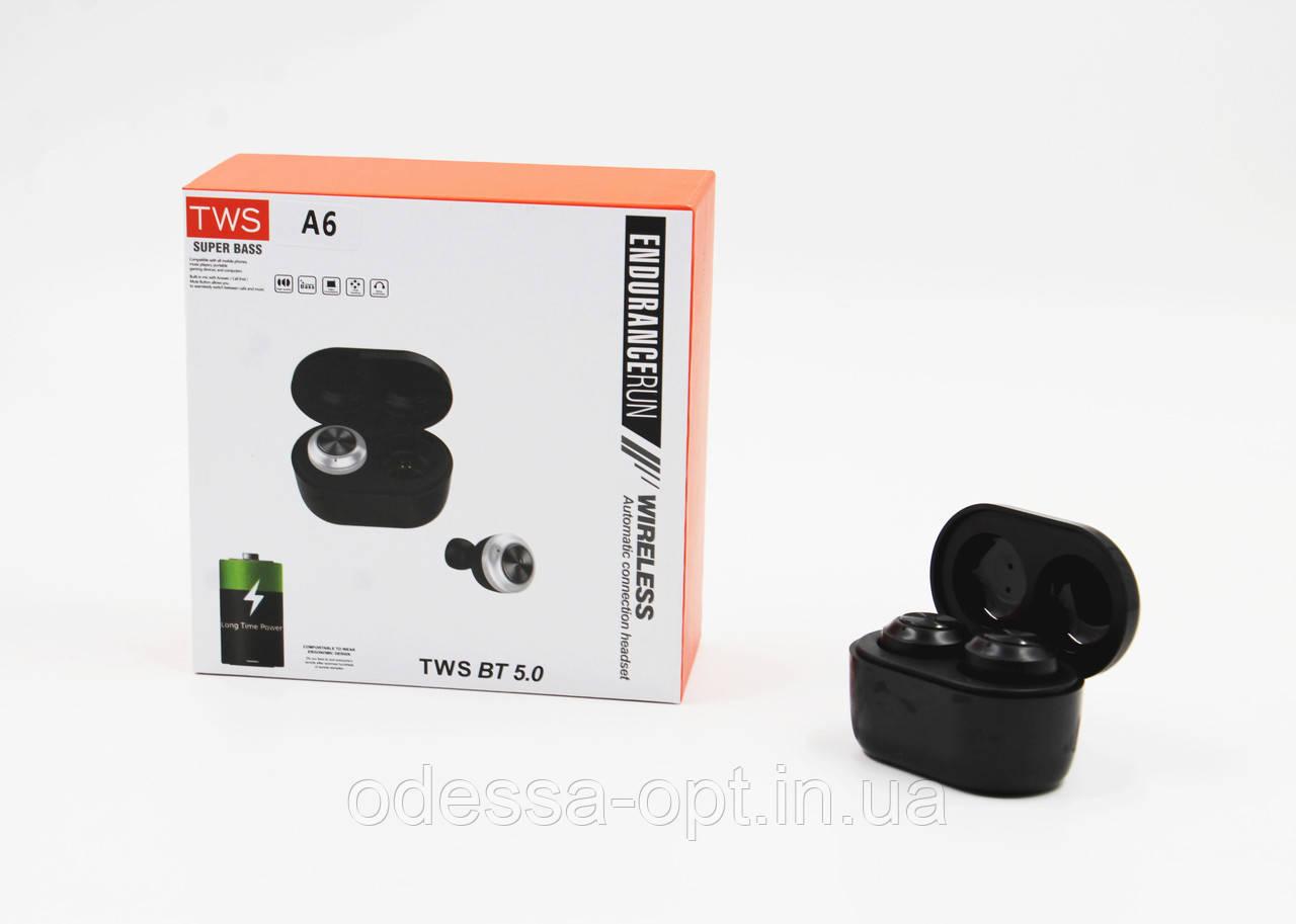 Наушники вакуумные MDR A6 Bluetooth (Арт: 6840-2846)