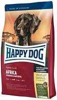 Happy Dog (Хеппи Дог) Africa Беззерновой корм для собак с страусом 12,5 кг