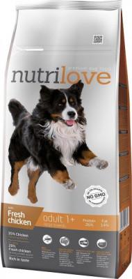 Nutrilove (Нутрилав) Adult Large Breeds Корм для крупных пород собак 12 кг