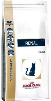 Royal Canin Renal корм для кошек при почечной недостаточности 4 кг