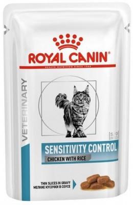 Лікувальні консерви Royal Canin для кішок Sensitivity Control Chicken 100 г
