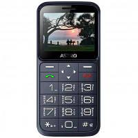 Мобильный телефон бабушкофон Astro A186 Navy громкий простой бюджетный телефон крупные кнопки и шрифт