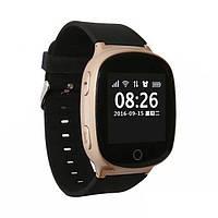 Умные смарт часы с GPS и пульсометром Smart Watch S200-PLUS Золото