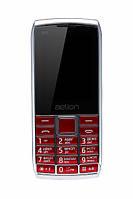 Кнопочный мобильный телефон  Aelion A600 Red бюджетный телефон недорого дешево