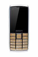 Кнопочный мобильный телефон  Aelion A600 Gold бюджетный телефон недорого дешево