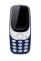 Кнопочный мобильный телефон  Aelion A300 Blue бюджетный телефон недорого дешево