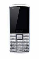 Кнопочный мобильный телефон  Aelion A600 Silver бюджетный телефон недорого дешево