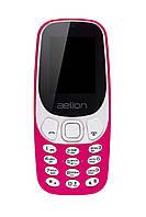 Кнопочный мобильный телефон  Aelion A300 Purple бюджетный телефон недорого дешево
