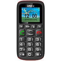Мобильный телефон бабушкофон Maxcom MM428 Black громкий простой бюджетный телефон крупные кнопки и шрифт