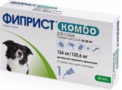 ФИПРИСТ  от блох и клещей для собак 10-20 кг 3х0,67мл