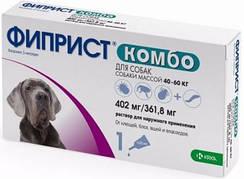 ФИПРИСТ КОМБО капли от блох и клещей для собак 40-60 кг 3х0,67мл
