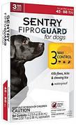 FiproGuard (Фипрогард) Sentry Капли от блох, клещей и вшей для собак 20-40 кг