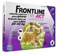 Merial Frontline (Фронтлайн) Tri-Act Капли для собак 20-40 кг