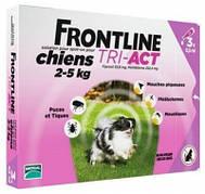 Merial Frontline (Фронтлайн) Tri-Act Капли для собак 2-5 кг