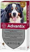 Advantix (Адвантикс) для собак Капли от блох и клещей 40-60 кг 1 шт