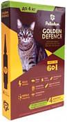 Palladium Golden Defence Капли на холку от паразитов для кошек до 4 кг