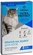Palladium Ultra Protect капли от блох и клещей для кошек 4-8 кг