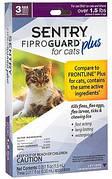 FiproGuard Plus капли от блох, клещей, вшей для котов и котят от 0.7 кг 3х0,50 мл