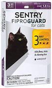 Sentry FiproGuard Краплі від бліх, кліщів і вошей для кішок і кошенят 3х0,5 мл