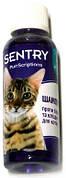 Sentry PurrScriptions Шампунь от блох и клещей для кошек, кокос-ягода 0,045 л
