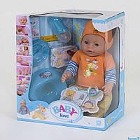 Пупс функциональный BL 034 E с аксессуарами - детский игровой набор