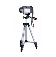 Тренога штатив для телефона, фотоаппарата и камеры Tripod 3110 (90009)