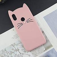 Силиконовый чехол 3D CAT для Xiaomi (Ксиоми)Redmi Note 7 / Note 7 Pro / Note 7s