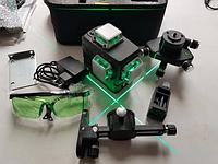 Бирюзовый луч DEKO 3D Лазерный уровень нивелир 12 линий ОРИГИНАЛ