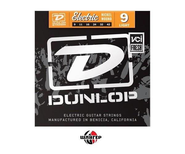 DUNLOP DEN0942 Струны для электрогитары .009-.042