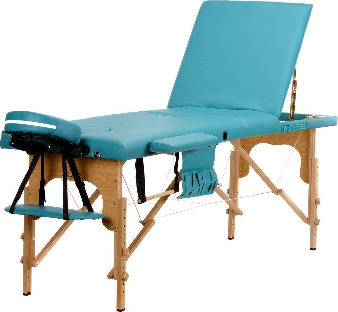 Стол, кровать для массажа 3 секционные деревянные BODYFIT