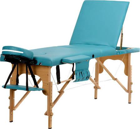 Стол, кровать для массажа 3 секционные деревянные BODYFIT, фото 2