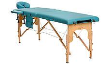 Стіл, ліжко для масажу 2 секційні дерев'яні BODYFIT, фото 3