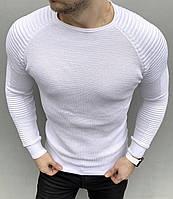 Стильная  однотонная Мужская кофта, фото 1