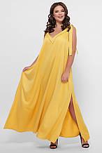 GLEM 0302 Платье пляжное желтое