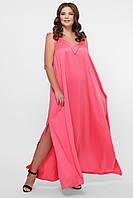 GLEM 0302 Платье пляжное розовое