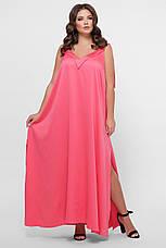 GLEM 0302 Платье пляжное розовое, фото 2