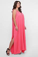 GLEM 0302 Платье пляжное розовое, фото 3