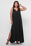 GLEM 0302 Платье пляжное черное